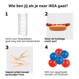 ikea fb post - overtuigingstechnieken